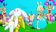 balloon bunnygirl Easter hopper pop // 1095x619 // 709.5KB