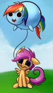 dash, little my pony rainbow, scootaloo // 400x700 // 260.2KB